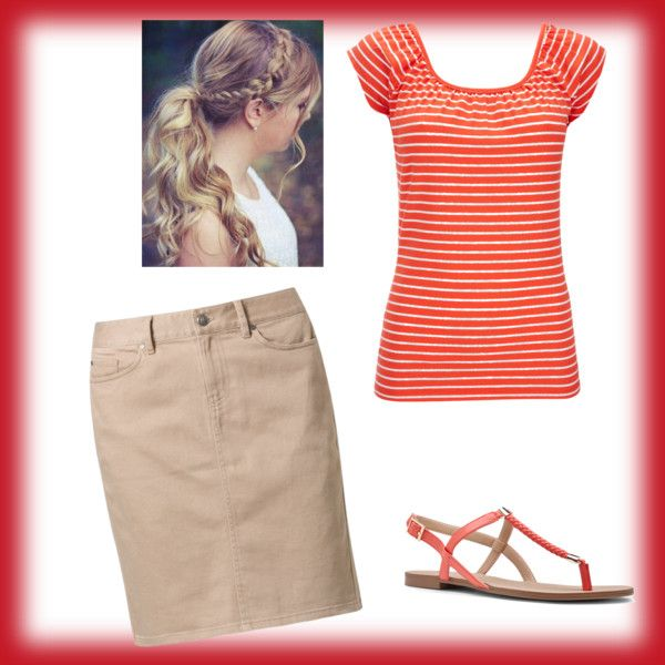 Summer Red by jlcereghin on Polyvore featuring Wallis, Tommy Hilfiger and Sole Society