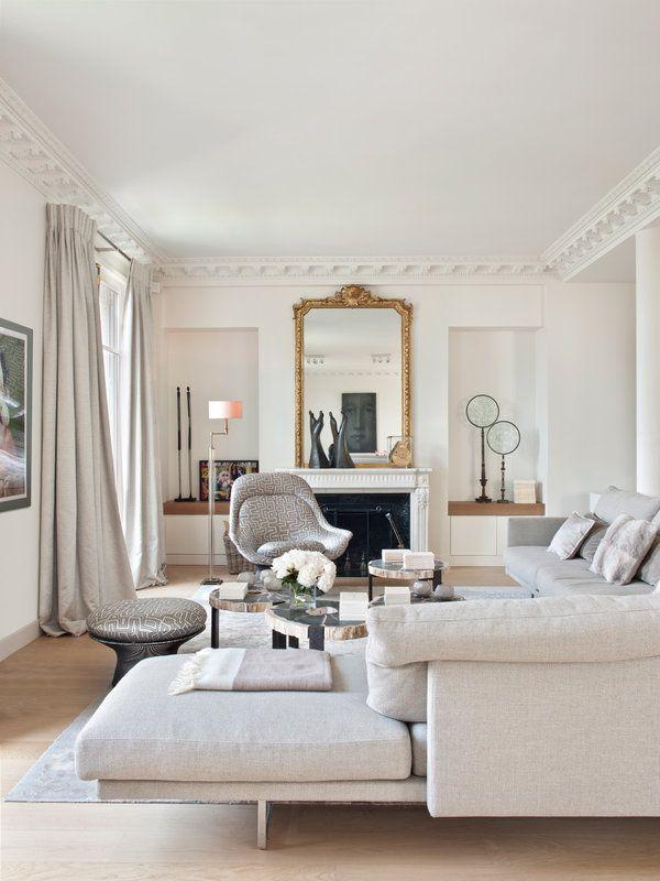 Sof s con chaise longue doble comodidad tumbona ideas - Salones con chaise longue ...