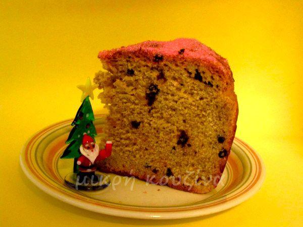 μικρή κουζίνα: Ζακυνθινή κουλούρα Χριστουγέννων με προζύμι