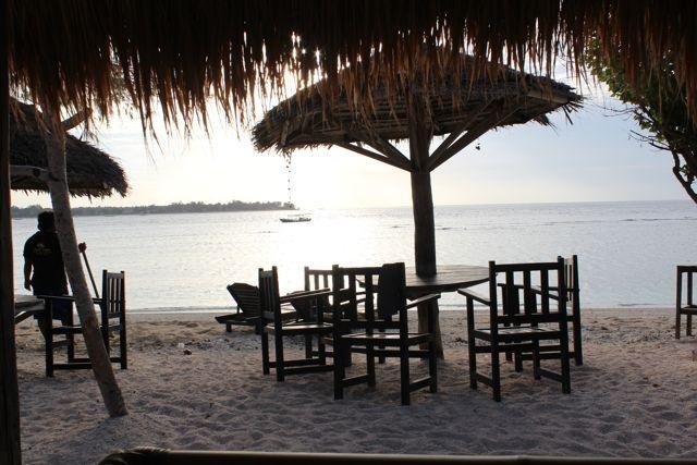 Gili Meno, the Robinson Crusoe island (Indonesia) - Sonne & Wolken