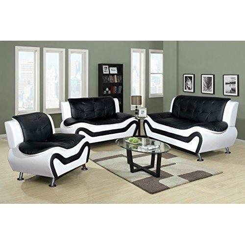 modern sofa sets living room. Genuine Leather Living Room Furniture Set 3 Piece Modern Sofa Black  White Best 25 room sofa sets ideas on Pinterest