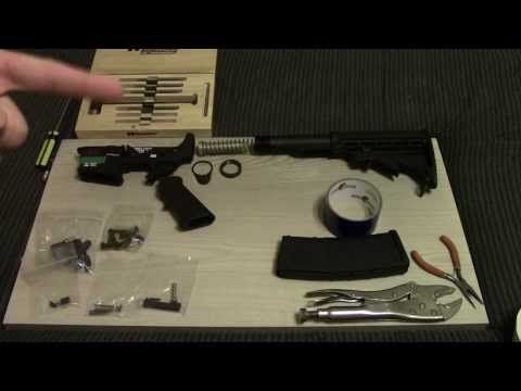 Building My First AR-15 (Spikes Lower & PSA Build Kit) - http://fotar15.com/building-my-first-ar-15-spikes-lower-psa-build-kit/