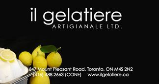 il gelatiere.  The best gelato in the city.  I like to try a new flavour each time.