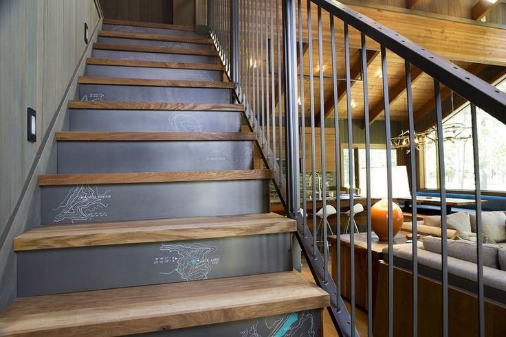 creative stair risers - Google Search