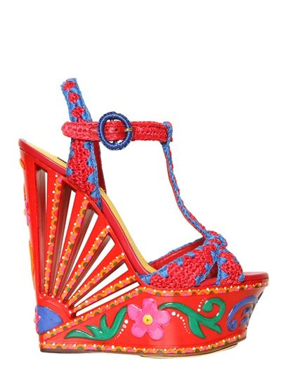 Dolce & Gabbana - shoes for the cabana!