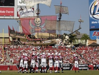Raymond James Stadium | Home of the 2002 Superbowl Champions @Tampa Bay Buccaneers NFL team. Also the venue of many touring concerts and events.