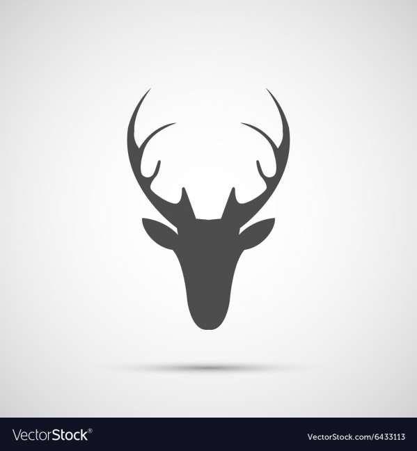 15 Deer Head Icon Deer Head Icon Illustration Deer