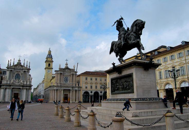 Torino, Piazza San Carlo.