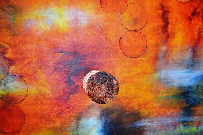 """ECLIPSE"" by artist Gillian Roulston - Buy Western Australian Art Online from Out of the Box Biz"