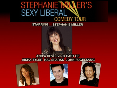 Stephanie Miller's Sexy Liberal Comedy Tour in DC on January 19 at the Warner Theatre