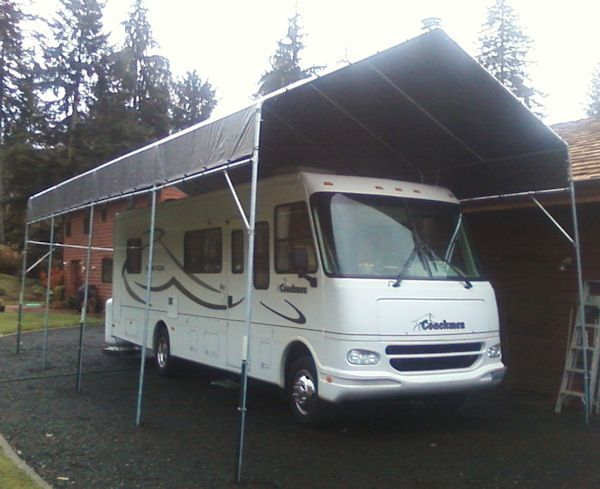 Motorhome Storage Portable Shelter : Best images about diy build your own rv or boat