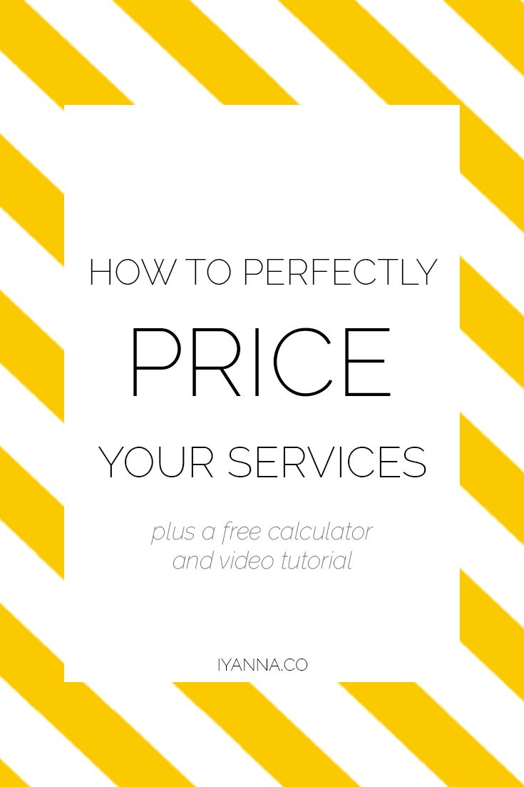 Overwhelmed with understanding how to price your services? Watch this free video tutorial about how it's done.