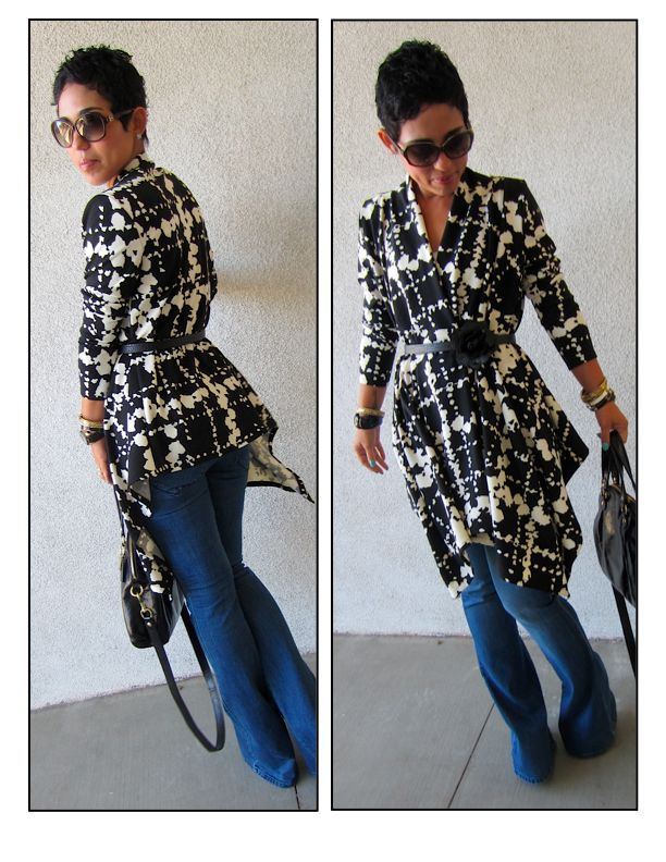 DIY Wrap: Pattern Review of M6168 View C |Fashion, Lifestyle, and DIY