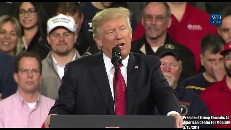 FULL SPEECH: President Donald Trump EPIC Speech at the Center For Mobili...
