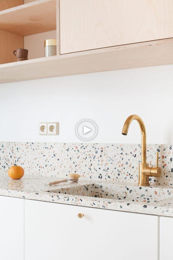 Trend Een Keuken Met Geintegreerde Spoelbak Roomed Kitchenideas Kitchendecorideas Kitchendecor Kuchenboden Kuchendesign Modern Kuchenrenovierung
