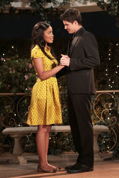 "Keke Palmer and Robbie Amell in ""True Jackson, VP"""
