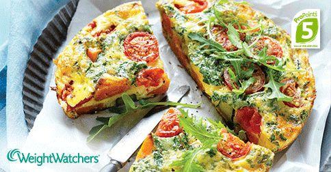 Dinner tonight is on us! Try our Roast Vegetable Frittata!