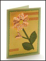 Tea-Bag Fold Card