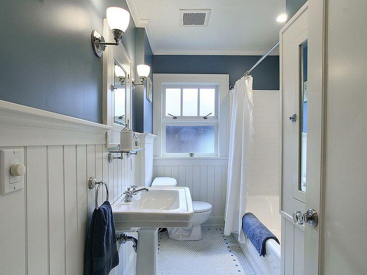 86 best bungalow bathrooms images on pinterest bungalow for Bungalow bathroom designs
