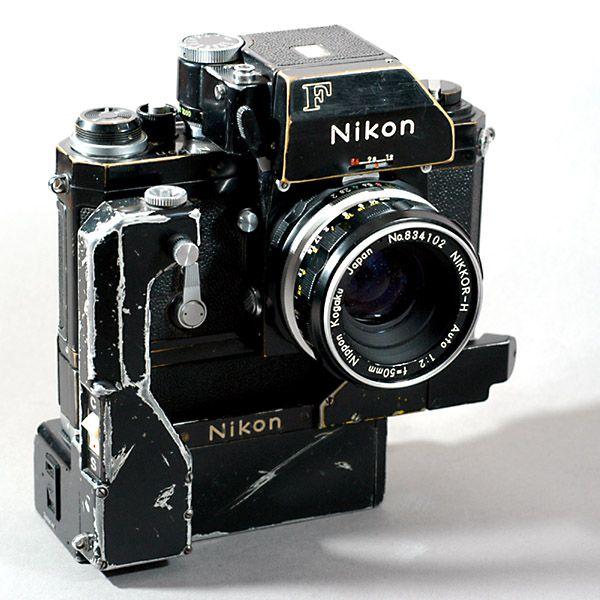 Nikon F - und sie läuft und läuft ... - Bild & Foto von Richard de Stoutz aus Historische Fotogeräte - Fotografie (4498472) | fotocommunity