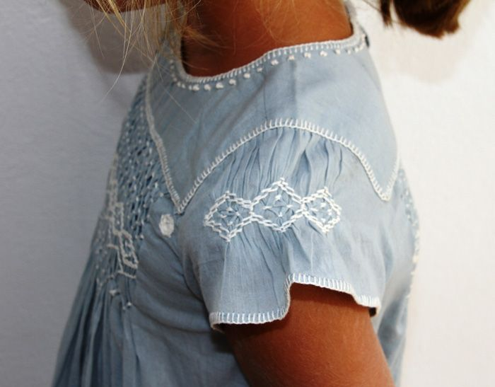 smocked sleeve detail. I will do this on a dress for Nicaragua missions!! Can't wait to get started.