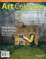 Art Calendar | July/August 2009 (Volume 23 · Number 7) | Professional Artist Magazine |    How to Target Smartphone Markets  By Terri Kleckner
