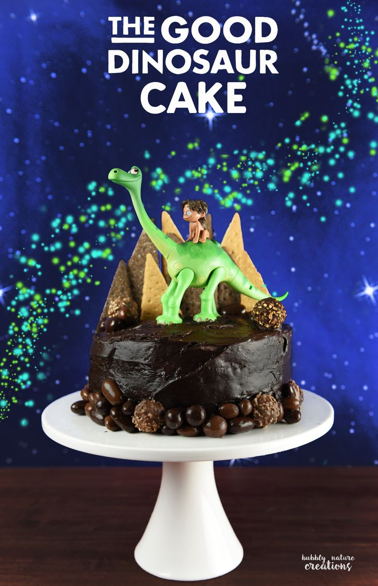 The Good Dinosaur Cake Easy Tutorial Cakes The Good And
