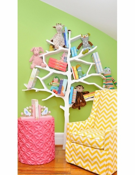 Tree BookcaseChild Room, Little Girls, Bookshelves, Kids Room, Girls Room, Kid Rooms, Book Shelves, Baby Room, Trees Bookcas