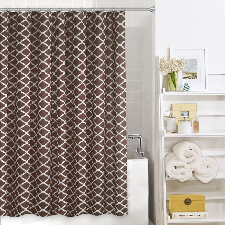 17 Best Images About Brown Shower Curtain On Pinterest