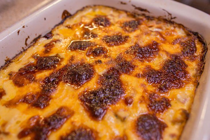 Ham & Cheese cauliflower casserole