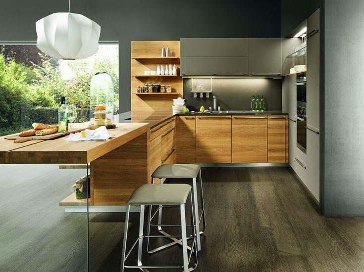 Linee - moderní kuchyně do U, bytový design / modern kitchen