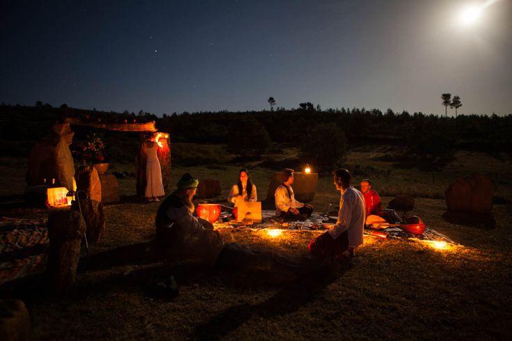 Ceremonia del Solsticio de Verano.