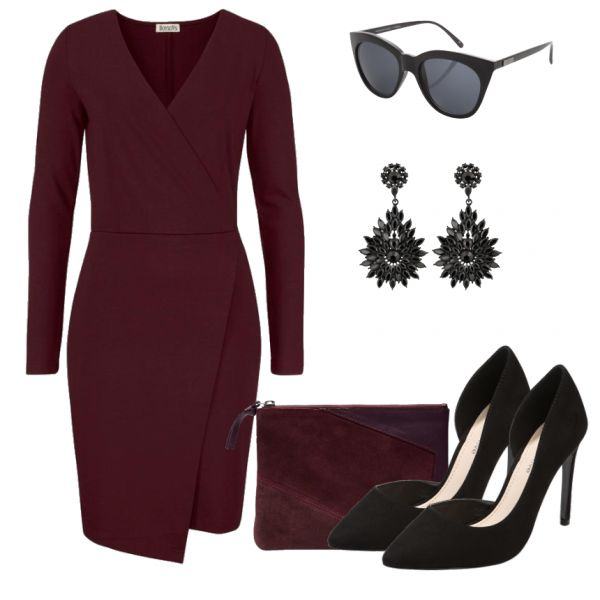 Abend Outfits: RedWine bei FrauenOutfits.de