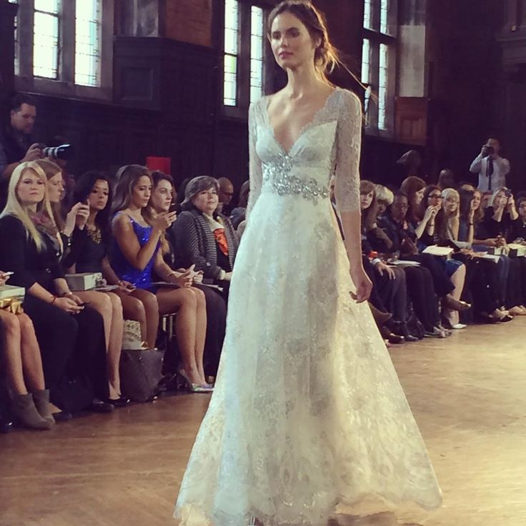 Claire Pettibone Bridal Fall 2015 featured on WWD | Photo: HuffingtonPost Weddings