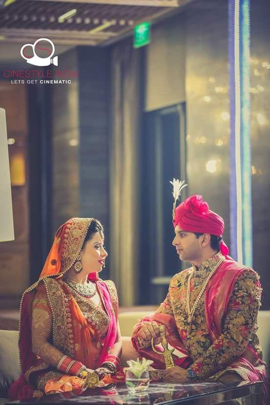 Excellent portrait of the bride and groom! Photo by Mohiz Studio, Pathankot #weddingnet #wedding #india #indian #indianwedding #weddingdresses #mehendi #ceremony #realwedding #lehenga #lehengacholi #choli #lehengawedding #lehengasaree #saree #bridalsaree #weddingsaree #indianweddingoutfits #outfits #backdrops #groom #wear #groomwear #sherwani #groomsmen #bridesmaids #prewedding #photoshoot #photoset #details #sweet #cute #gorgeous #fabulous #jewels #rings #tikka #earrings #sets #lehnga