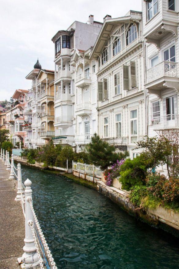 Historic neighbourhood of Arnavutköy in Istanbul . Turkey.