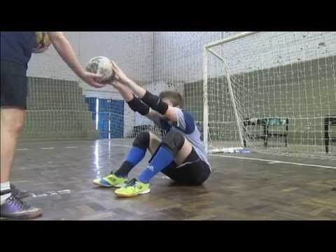 Treinamento de Goleiro - Futsal Goalkeeper Training - YouTube