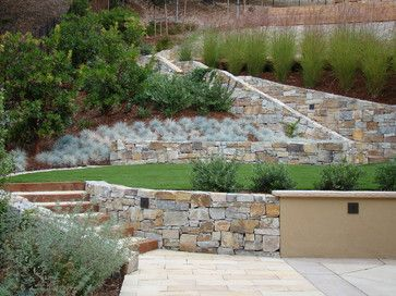 Contemporary Garden Design Ideas Steep Slope on steep slope water feature, steep slope landscaping trees, steep slope backyard landscaping, steep slope gardening,
