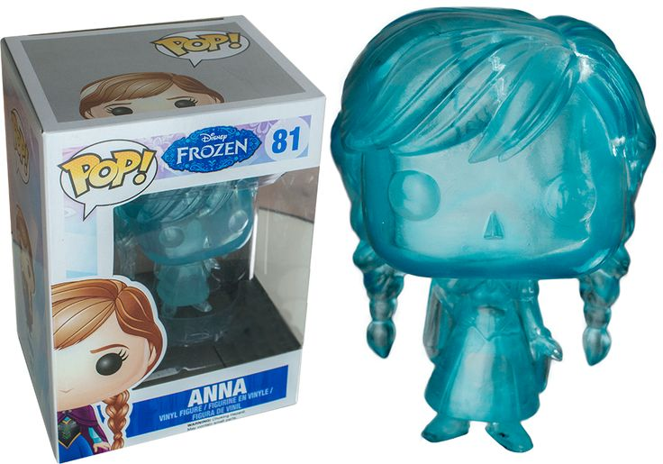 Frozen - Frozen Anna Clear Blue Pop! Vinyl Figure by Funko Anna is more daring than graceful and, at times, can act before she thinks. But she's also the most optimistic and caring person you'll ever meet. She longs to reconnect with her sister, Elsa, as they were close during their childhood. Get your hands on this Clear Blue Frozen Anna Pop! Vinyl Figure, which was a San Diego Comic Con Exclusive in the States earlier in 2014, now it is your's to own over here in Australia!Please note…
