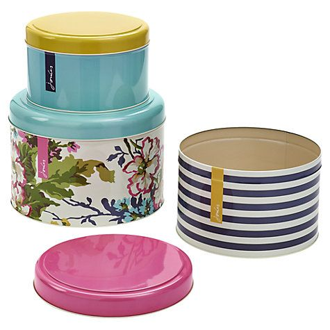 Buy Joules Cake Tins Online At Johnlewis.com £29.95