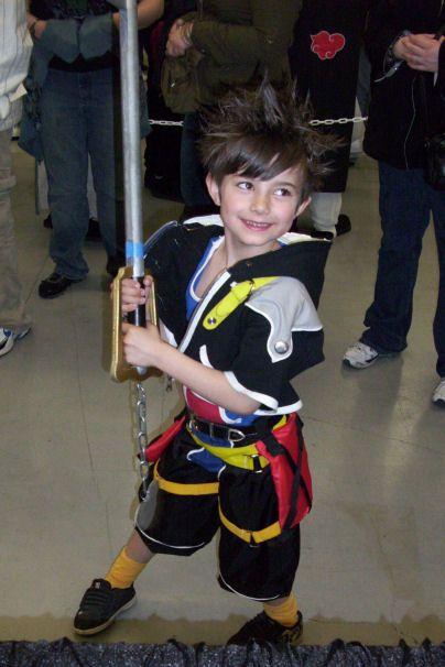 Kid Sora Cosplay Children Cosplay Kingdom Hearts