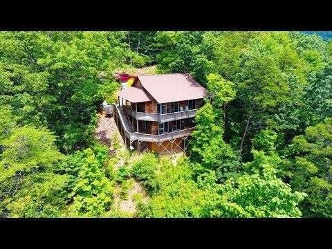2 Bdr Helen GA Luxury Vacation Cabin Rental   Lookout Pointe