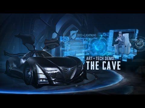 The Cave: Iron Man UI Meets Batman [Oculus Rift Demo] - YouTube