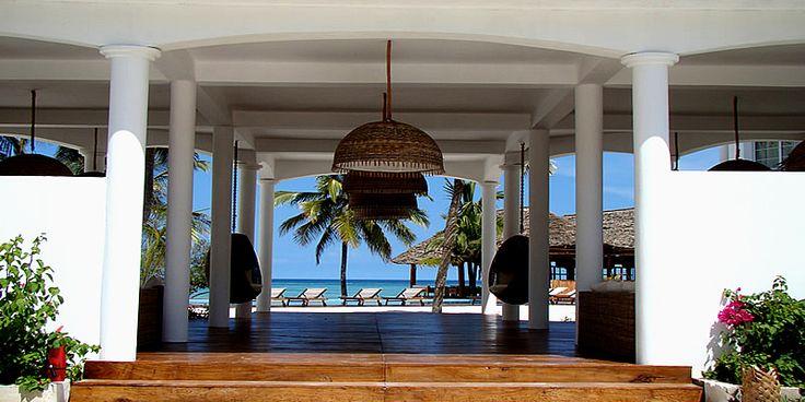 Dongwe Ocean view hotel in Zanzibar. Accepts miles!