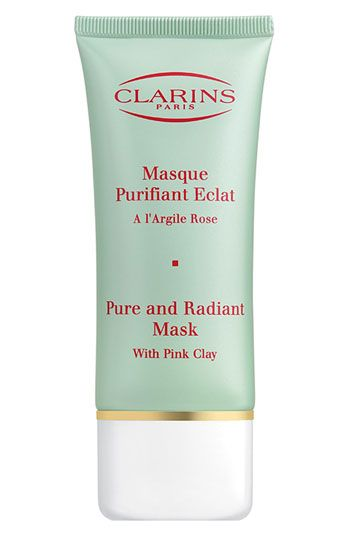Clarins 'Truly Matte' Pure & Radiant Mask available at #Nordstrom $29 also good to decongest, minimise pores and rid black/white heads