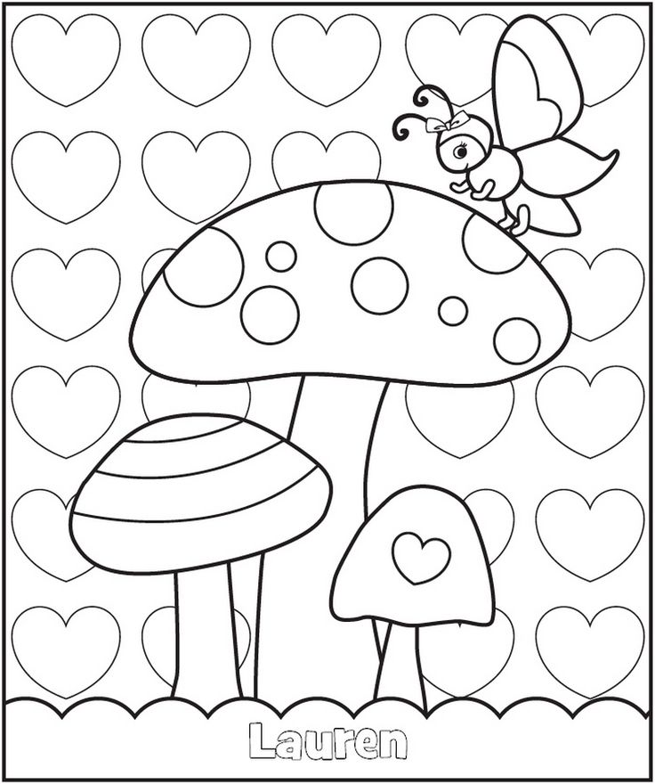 valentine day mazes coloring pages - photo#28