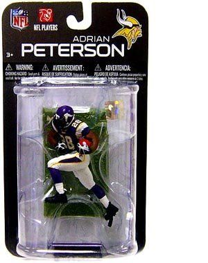 McFarlane Toys NFL 3 Inch Sports Picks Series 7 Mini Action Figure Adrian Peterson (Minnesota Vikings) by McFarlane Toys. $7.70. McFarlane Toys NFL 3 Inch Sports Picks Series 7 Mini Action Figure Adrian Peterson (Minnesota Vikings)Scale:3 Inch Format: Action Figure Packaging: Clamshell Manufacturer: McFarlane ToysFor Ages: 4 and UpRelease Date: In Stock!Describtion:. Save 23%!