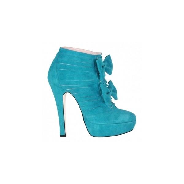 Kicki   Shoe Designer Minna Parikka - Official Online Boutique (€380) found on Polyvore.    I have these in black, love them