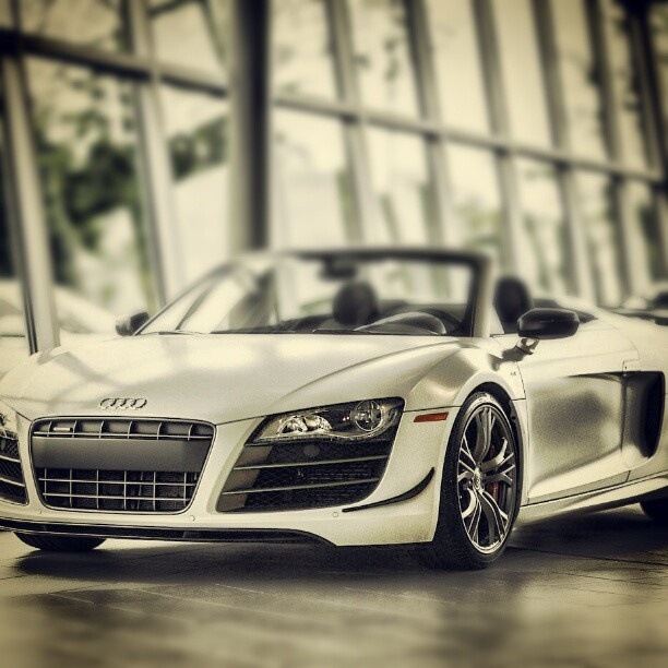 Beautiful Audi R8. Anastasia's Car In 50 Shades Of Grey