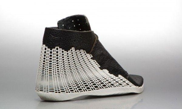 3D Printed Hybrid Shoe by Earl Stewart //